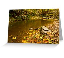 McDowell Creek Landscape Greeting Card