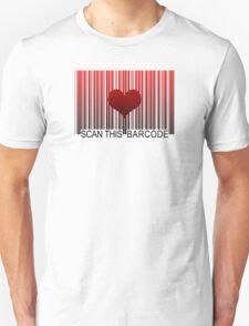 I LOVE YOU BARCODE T-Shirt