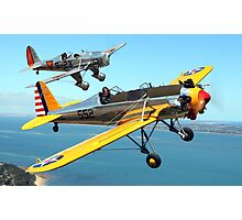 Ryan PT-22 and Ryan STM Photographic Print