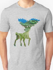 Sawsbuck (summer) used solar beam T-Shirt