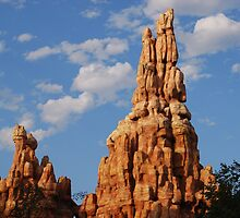 Big Thunder Mountain by Ron Hannah