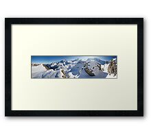 Fall in the Alps Framed Print