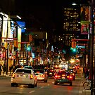 Yonge Street North of Dundas by Gary Chapple
