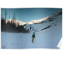 Skiing in Highwood  Poster