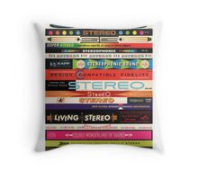 Stereo Stack Poster/Print #1 Throw Pillow