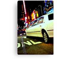 limo out of my way Canvas Print