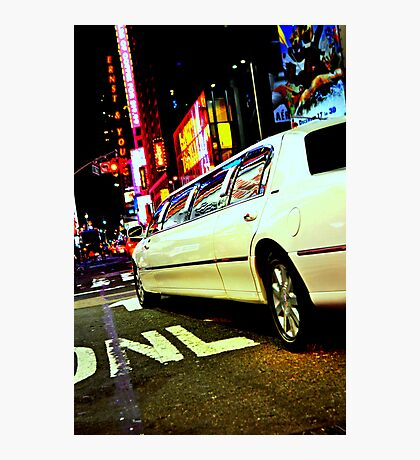 limo out of my way Photographic Print
