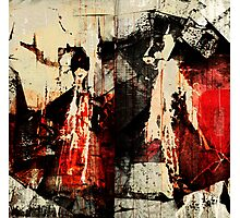Little Red Riding Hood and the Big Bad Wolf Photographic Print