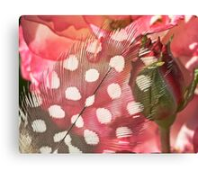 Hidden Pink Canvas Print