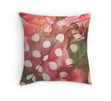 Hidden Pink Throw Pillow