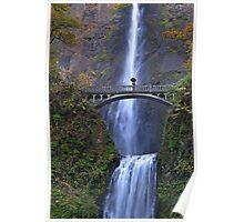 Multnomah Falls, Oregon Poster