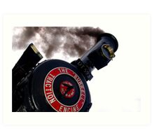 Traction Engine Art Print