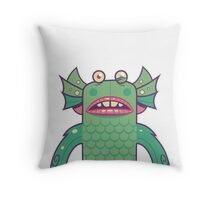 Black Lagoon Monster's Ugly Brother Throw Pillow