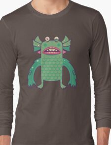 Black Lagoon Monster's Ugly Brother Long Sleeve T-Shirt
