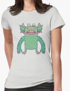 Black Lagoon Monster's Ugly Brother Womens Fitted T-Shirt