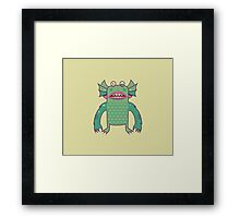 Black Lagoon Monster's Ugly Brother Framed Print