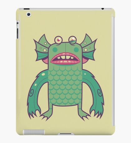 Black Lagoon Monster's Ugly Brother iPad Case/Skin