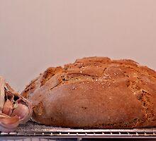 garlic bread by Clare Colins