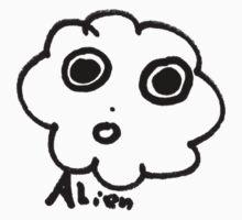 Cloud comic - Alien Kids Tee