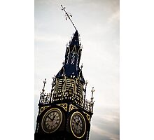 Clock Tower Askew Photographic Print