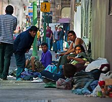 Down & Out in Mexico, Mexico City. by bulljup