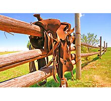 Saddle Up Photographic Print