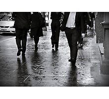 Rain Walk Photographic Print