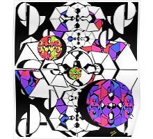 Geometric Colour Construction 2 Poster