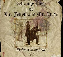 Altered, Robert Louis Stevenson's Strange Case of Dr. Jekyll & Mr. Hyde Theatre Poster by Cameron Hampton