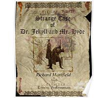 Altered, Robert Louis Stevenson's Strange Case of Dr. Jekyll & Mr. Hyde Theatre Poster Poster
