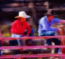 Rodeo Cowboys by Michelle Wrighton