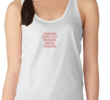 True Blood - Friends don't let friends drink friends II Women's Tank Top