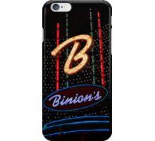 Las Vegas Neon Collection - Binions Hotel iPhone Case/Skin