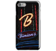 Las Vegas Neon Collection - Binions Hotel iPhone Case/Skin
