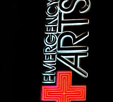 Las Vegas Neon Collection - Emergency Arts by Bobby Deal