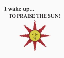 Wake up to praise Baby Tee