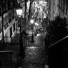 Un Escalier à  Montmartre by Nick Coates