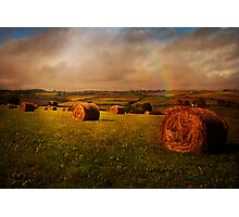 Cornish Fields Photographic Print