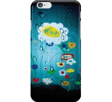 Rain drops Landscape Lomography iPhone Case/Skin
