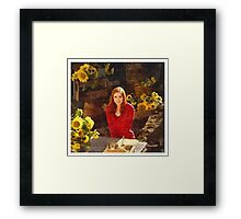 Amy Pond Doctor Who Framed Print