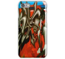 Skate Boarder- Street Art, Graffiti Style! iPhone Case/Skin