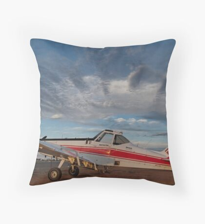 Brave Cloudscape Throw Pillow