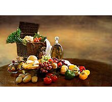 Fruit and Vegetables  Photographic Print