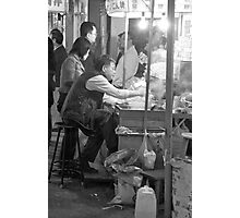 Food Stall Snacker Photographic Print