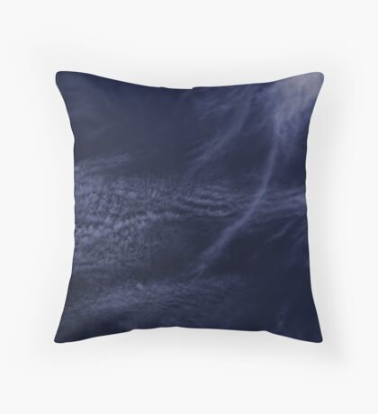 Cloud Streamers Throw Pillow