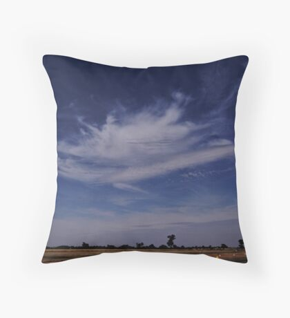 Touched by an Angel Throw Pillow