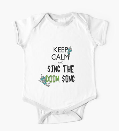 Keep Calm and Sing the Doom Song One Piece - Short Sleeve
