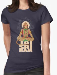 Hanuman Sankat Mochan Womens Fitted T-Shirt