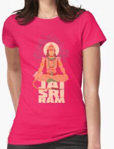 Hanuman Sankat Mochan Womens Fitted T-Shirt