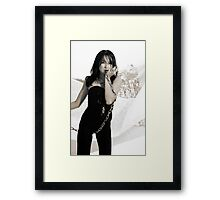Moon Chained Framed Print